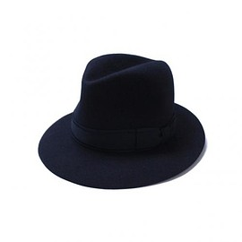 TAKAHIROMIYASHITA The SoloIst. - nobled hat 0011. -navy.-