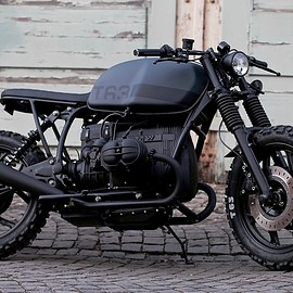 "BMW - R80 ""T63"" custom built by Patrick Rohr of Angry Motors 1989"