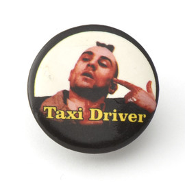 Taxi Driver - Button Badge