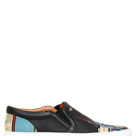 GIVENCHY - LEATHER ROBOT SLIP ON SNEAKERS