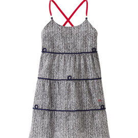 UU - G's UU printed sleeveless dress+