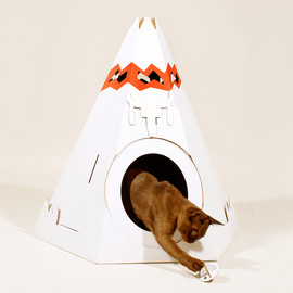 loyal luxe - cat teepee