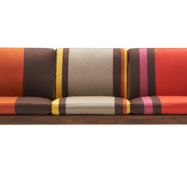 Paul Smith, Carl Hansen & Søn, Maharam - CH163 Sofa – Big Stripe – Poppy