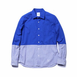 COTTON OXFORD TAPE LINE B.D SHIRT