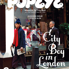 マガジンハウス - popeye 2012 sep city boy in london