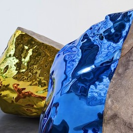 JIM HODGES  - ROCKS  SCULPTURES