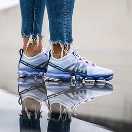NIKE - Air Vapormax 2019 Football Grey/White-Obsidian
