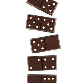 williams-sonoma - Caramel-Filled Chocolate Dominos