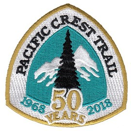 Pacific Crest Trail - Pacific Crest Trail 50th Anniversary Patch