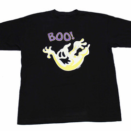 "VINTAGE - Vintage 1994 Halloween Glow in The Dark Ghost ""Boo"" Shirt Mens Size XL"
