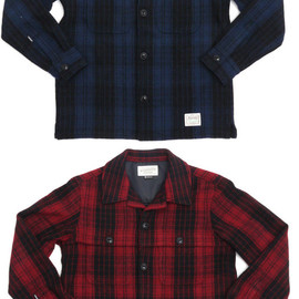 NEIGHBORHOOD - NEIGHBORHOODCPO.BUFF/WN-SHIRT.LS(CPOシャツジャケット)216-001092-043-【新品】【smtb-TD】【yokohama】