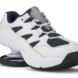 "Z-COiL - CoiL Shoes Open CoiL ""Freedom Classic"" Navy White"