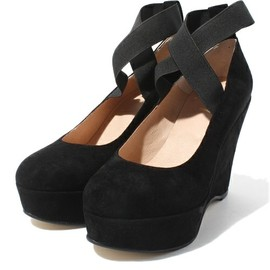 FRANCES wedge ballet heel