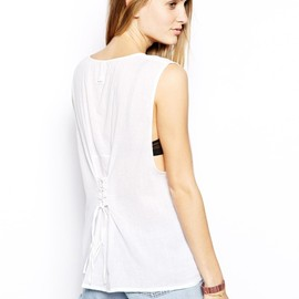 RVCA - The Hype Tie Back Top