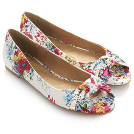Accessorize - Bella Floral Peep Toes