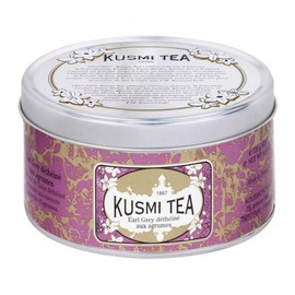 Kusmi tea - Decaffeinated Earl Grey with citrus fruit