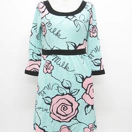 MILK - MILK rose knit dress