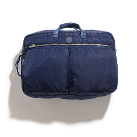 Porter Classic - Super Nylon 3way Brief Case L-Blue