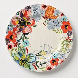 Anthropologie - Sissinghurst Castle Side Plate