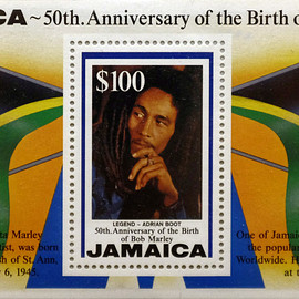 The Postal Corporation of Jamaica - 50th. Anniversary of the Birth of Bob Marley