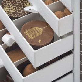 Artisan du Chocolat - Monogram Box filled with Chocolates