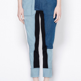3.1 Phillip Lim - Cut-up Surf Pant