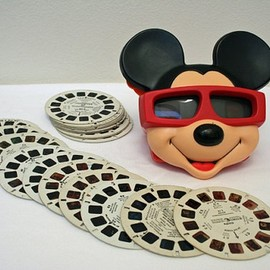 Disney - Vintage Mickey Mouse 3-D View-Master