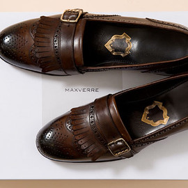 MAX VERRE - MAX VERRE Full Brogue Quilt Loafer