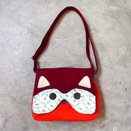 littleoddforest - Bandit The Raccoon Sling (Vintage Tangerine)