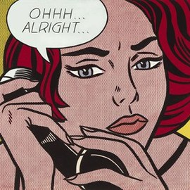 Roy Lichtenstein - Ohhh...Alright...