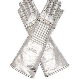 CALVIN KLEIN 205W39NYC - FW2018 Padded leather gloves