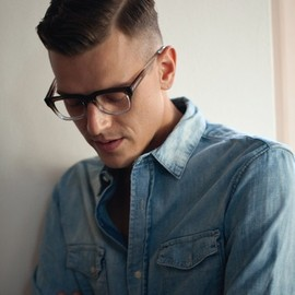 Faded eyewear + denim