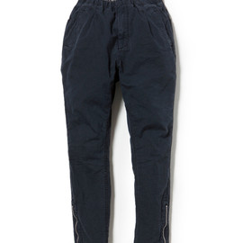nonnative - PILGRIM EASY PANTS COTTON WEATHER CLOTH