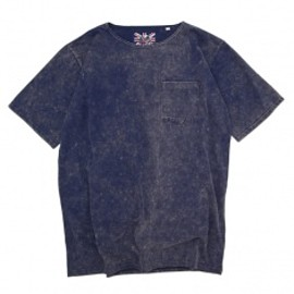 SON OF THE CHEESE - BOAT NECK TEE Navy