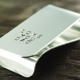 "luckyhorn - ""Love You Dad"" Personalized Money Clip"