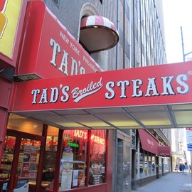 NYC - Tad's Steaks