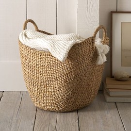 west elm - Large Curved Basket