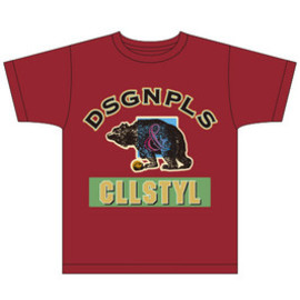 "handsome t-shirts - college style ""bear tee"""