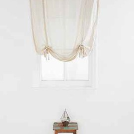 urban outfitters - draped shade curtain