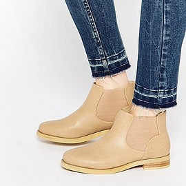 Daisy Street - Weathered Tan Chelsea Boots
