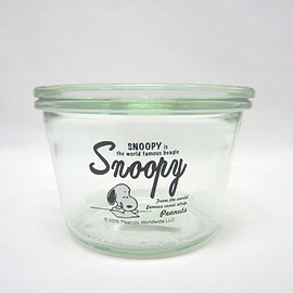 SNOOPY - スヌーピー WECK 300ml SNOOPY741