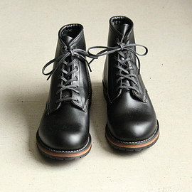 RED WING - Round-Toe Beckman Boots [No.9014,Black,Featherstone]
