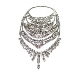 Tom Binns - LARGE FIVE TIERED NECKLACE