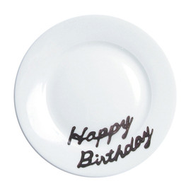 Touch project - Birthday plate