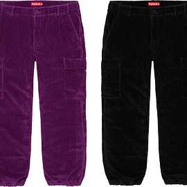 Supreme - Wide Wale Corduroy Cargo Pant