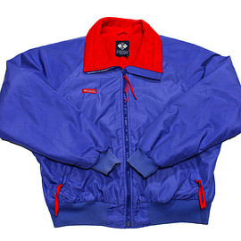 VINTAGE - Vintage 90s Purple/Red Columbia Skiing/Snowboarding Jacket Mens Size Large