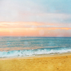Luulla - Sunset Beach Photograph Art Print