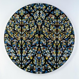 Damien Hirst - South Rose Window, Lincoln Cathedral, 2007