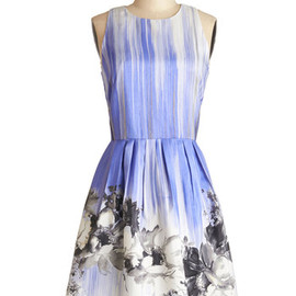 modcloth - Blissful Brushstrokes Dress