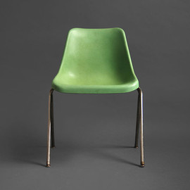 eames - vintage green shell chair.